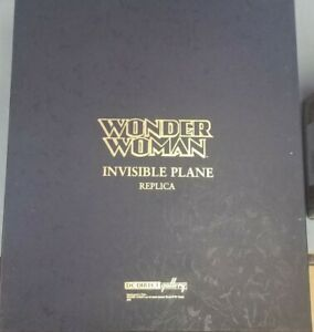 WONDER WOMAN INVISIBLE PLANE REPLICA DC DIRECT GALLERY NEVER DISPLAYED toys-333j