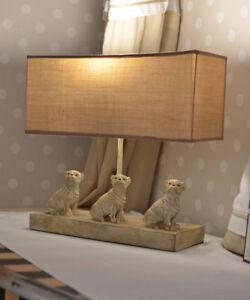 Pug Lamp Table Desk Lamp Country Style Table Lamp Hundelampe Pug Figure Light