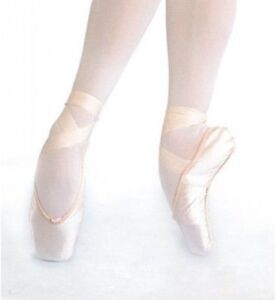 Gamba by Repetto G 93 Satin Ballet Pointe Shoes, Full Shank, Medium or Hard, NWD