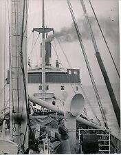 CROISIÈRE c. 1938 - Paquebot Traversée Norvège Le Pont du Bateau - Div 9991