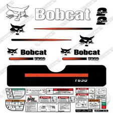 Bobcat T630 Compact Track Loader Decal Kit Skid Steer (Straight Stripes)