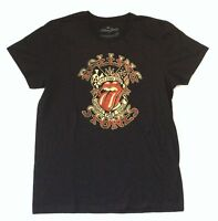 Rolling Stones Tattoo You World Tour 1981 Black T Shirt New Official Merch