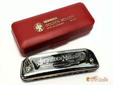 Golden Melody Harmonica by Hohner - KEY of D