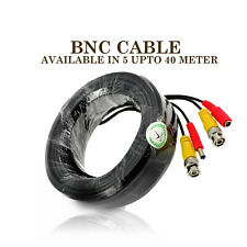 More details for 5m-50m bnc dc power lead cctv security camera dvr video record extension cable