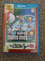 New Super Mario Bros Game + New Super Luigi Wii U  - Fast Dispatch