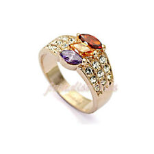 Anello Donna Cristallo Swarovski elements multicolore N52