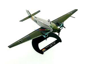 1/144 Diecast Plane German Junkers Ju-52/3m WWII 1939 Nazi Aircraft Transport