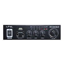 DJ Stereo Music Bluetooth SD USB Mp3 Amplifier Remote Control Big Light