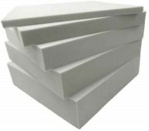 High Density Foam Sheets Cushions Seat Pads Cut to Any size Upholstery Foam
