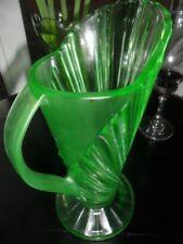Art Deco Antique Original Uranium Glass