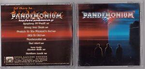 PANDEMONIUM - PANDEMONIUM CD 2003 GREECE STEEL GALLERY  RARE METAL ROCK