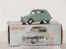 Miniabox Citroën 2 CV dinky car designed By Minialuxe France 1/66è Ref MB105_4SE