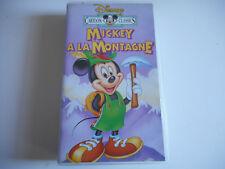 K7 VHS / CASSETTE VIDEO - MICKEY A LA MONTAGNE - DISNEY
