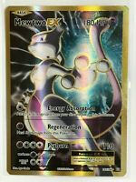 Mewtwo EX FULL ART ULTRA RARE 103/108 Pokemon TCG XY Evolutions Holo Rare NM