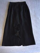 Escada Womens Skirt Size 36 Black Crepe Skirt Margaretha Ley Evening Wear