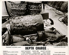 Depth Charge on deck of The Good Hope boat Scotland original lobby card