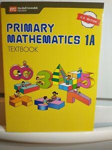 Primary Mathematics 1A Textbook U.S. Edition
