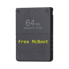 Free McBoot FMCB 64 MB Memory Card for PS2 v1.953 ship from New York
