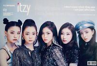 Kpop ITZY Poster #A01 Yuna Ryujin Chaeryeong Lia Yeji