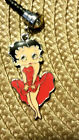 Betty Boop Coral cha cha dress cell phone dust plug