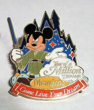DISNEYLAND ~  Jedi Year of a Million Dreams Pin & Travel Co., Inc LANYARD 2008
