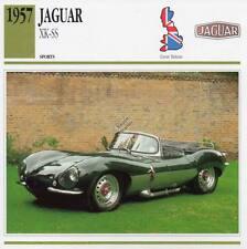1957 JAGUAR XK-SS Sports Classic Car Photo/Info Maxi Card