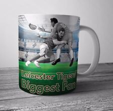 Leicester Tigers Fan Rugby Mug / Cup Birthday / Christmas Gift / Stocking Filler
