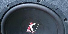 "KIcker Subwoofer 12"" Stillwater design Made in USA"