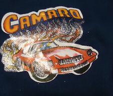 Nos Vtg 70s Blue Navy Camaro Car Iron On Bikini Briefs M Us Oldstock