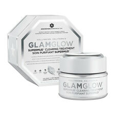 GlamGlow Super Mud Supermud Clearing Treatment 1.2oz NEW IN BOX FASTSHIP