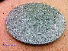 runde Natursteinplatte Tischplatte hellgrün Bistrotisch Granitplatte Steinplatte