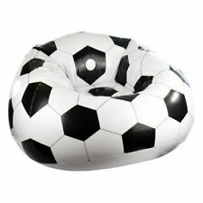Inflatable Football Chair Sofa Lounger Seat Camping Gaming Pod Relaxing Blow Up