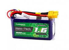 Turnigy Nano-Tech Plus 1600mAh 4S 14.8V 70C 140C LiPo Battery XT60 Multirotors