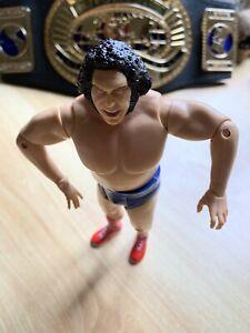 WWE WWF Andre The Giant Wrestling Action Figure JAKKS 2005 Classic Superstars