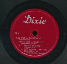 78tk-hillbilly sacred-DIXIE 102-(EP)- Various artists...Arlie Duff,Stamps, more