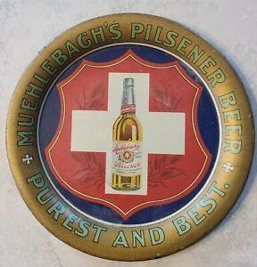 "Rochester NY Liner #9-1933-35 era Standard Silver Pale Ale Tray 10-7//8/"" Dia"