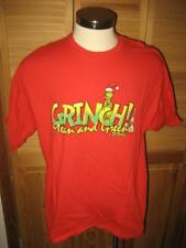 Grinch Mean and Green Christmas T Shirt 2XL Mint