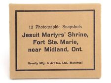 Jesuit Martyrs Shrine Fort Ste Marie Ontario Canada 12 Printed Photographs H833