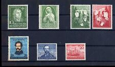 Top lot federal 1952, MiNr. 149 - 155, **, correos frescos, lujo, e90