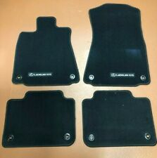 LEXUS GS 2013-2020 BLACK 4PCS CARPET FLOOR MATS REAR WHEEL DRIVE PT926- 30194-25