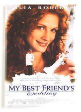 My Best Friend's Wedding Fridge Magnet (2.5 x 3.5 inches) movie poster
