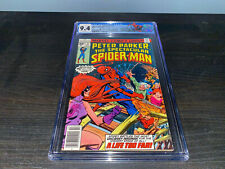 Spectacular Spider-Man #11 35 Cent Price Variant CGC 9.4 White Pages 1977 Marvel