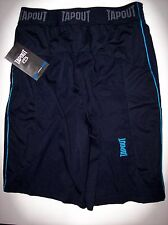 Tapout Shorts Mens Polyester Power Woven Training Sz Small S Navy Blue  NWT