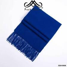 SDA10006 POSH FLEECE Pure Wool Scarf with Fringe Wrap,170CM x 30CM, Soft Fashion
