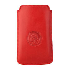 DIESEL X00851 Slim Sleeve Handytasche Hülle Cover Rot Red, Iphone 3/4/4S, Leder