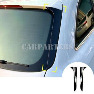 For Audi A4 B8 Allroad Avant 2X Rear Window Spoiler Side Wing Cover 2009-2016