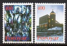 Faroe Islands Mnh 1995 Sg283-4 Christmas
