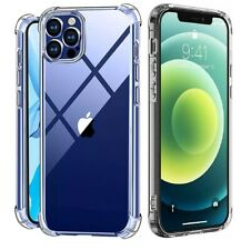 For iPhone 11 12 X XS Max 6 6s 7 8 Plus Clear Shockproof Protective Cover Case