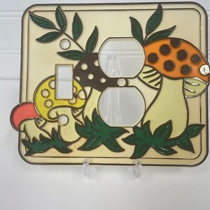 Merry Mushroom by Sears outlet cover light switch plate