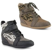 Dolcis Wedge Synthetic Boots for Women